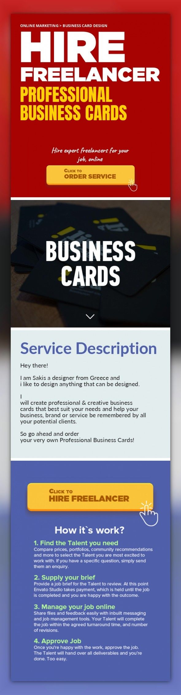 Professional Business Cards Online Marketing, Business Card Design ...