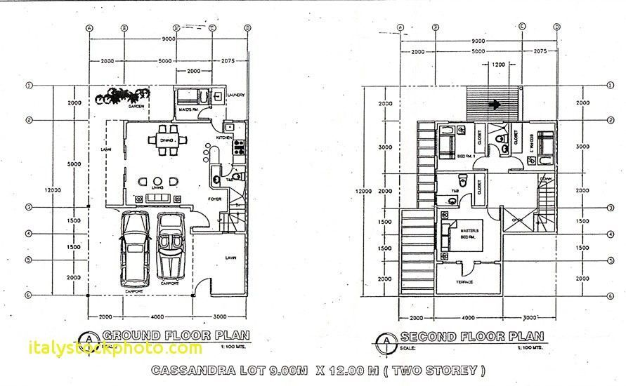 2 Storey 3 Bedroom House Floor Plan Philippines House
