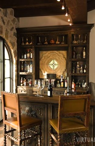 This Would Be A Nice Small Fancy Bar In The House Home Bar