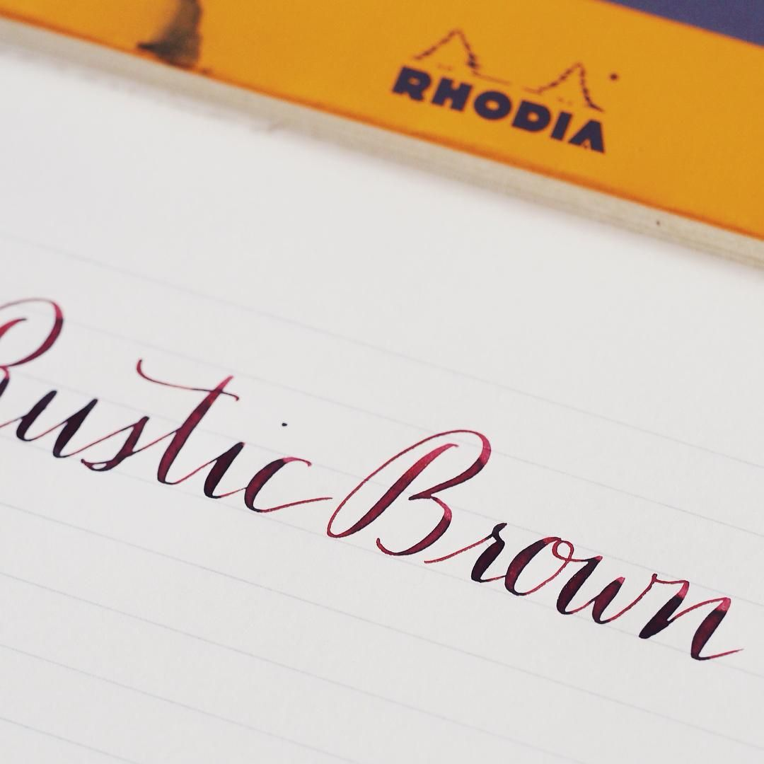 diamine rustic brown inks i like pinterest stationery shop and