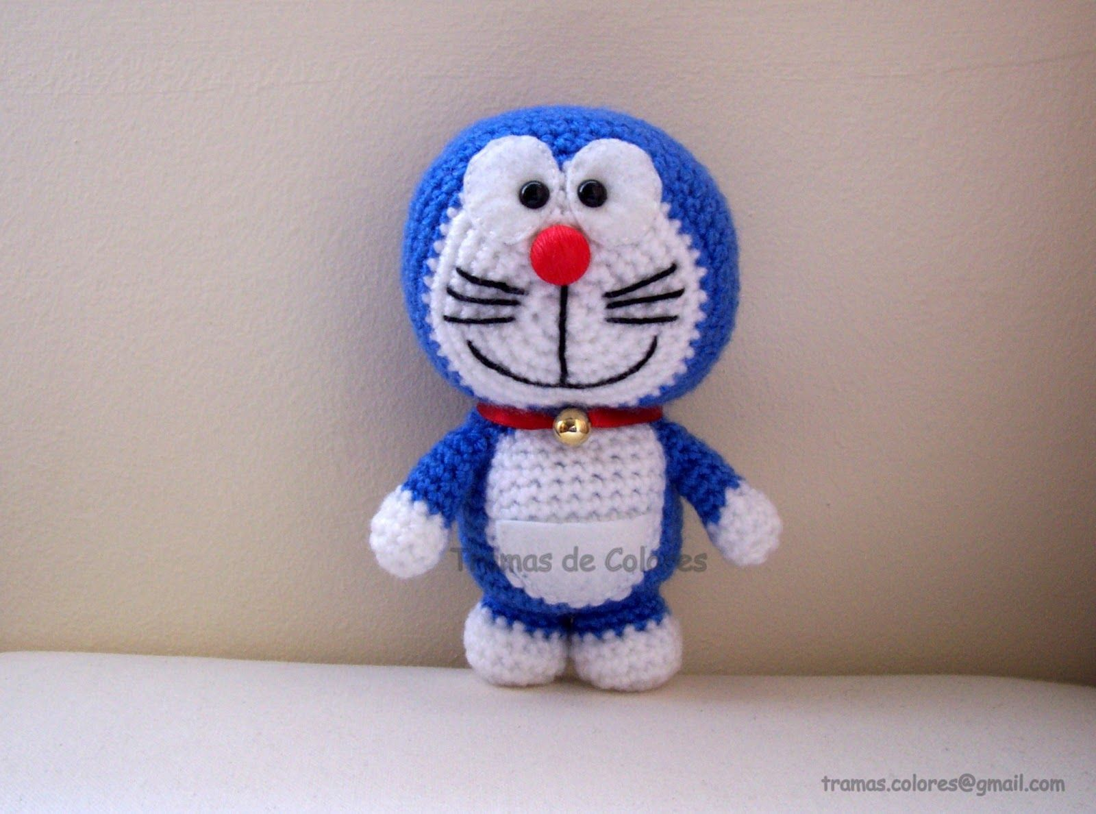 Amigurumi Doraemon Free Pattern : Doraemon amigurumi amigurumis pinterest amigurumi crochet and