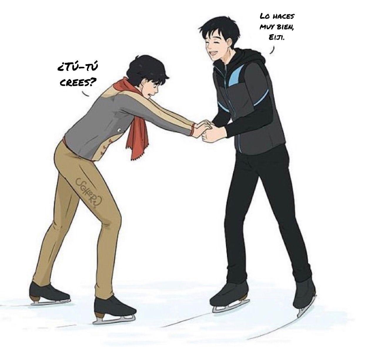 Crossover Banana Fish & Yuri On Ice