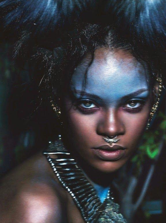Rihanna by Mert Alas & Marcus Piggott for W Magazine September 2014