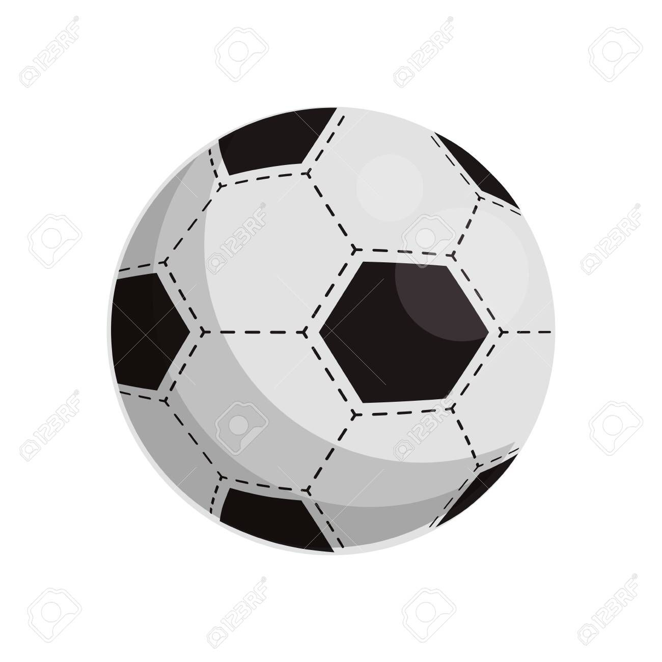 Soccer Ball Icon Over White Background Vector Illustration Aff Icon Ball Soccer White Illustration Natural Logo Soccer Ball White Background