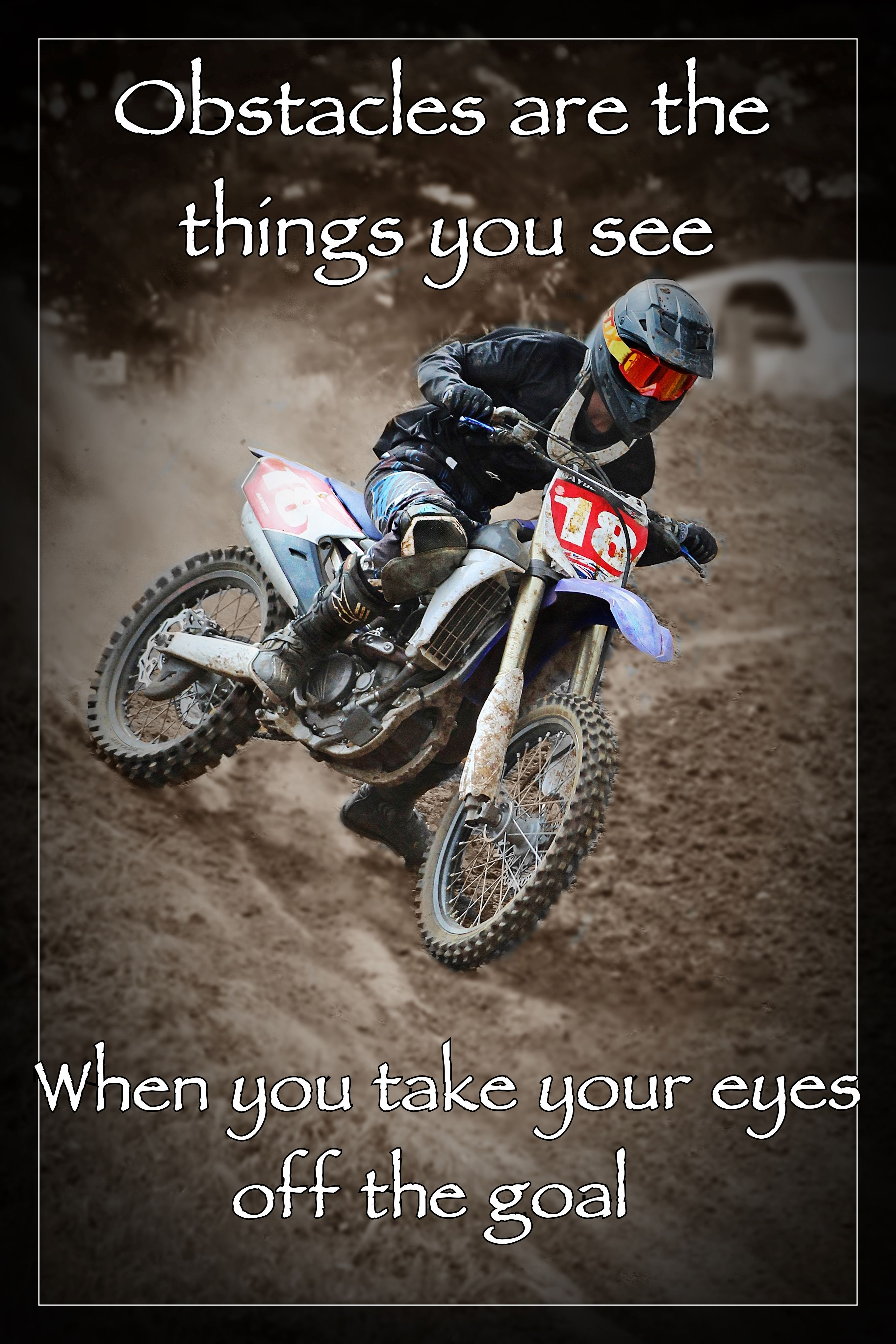 Pin By Luke Attwell On Motocross Style Motocross Biker Quotes Car Guys