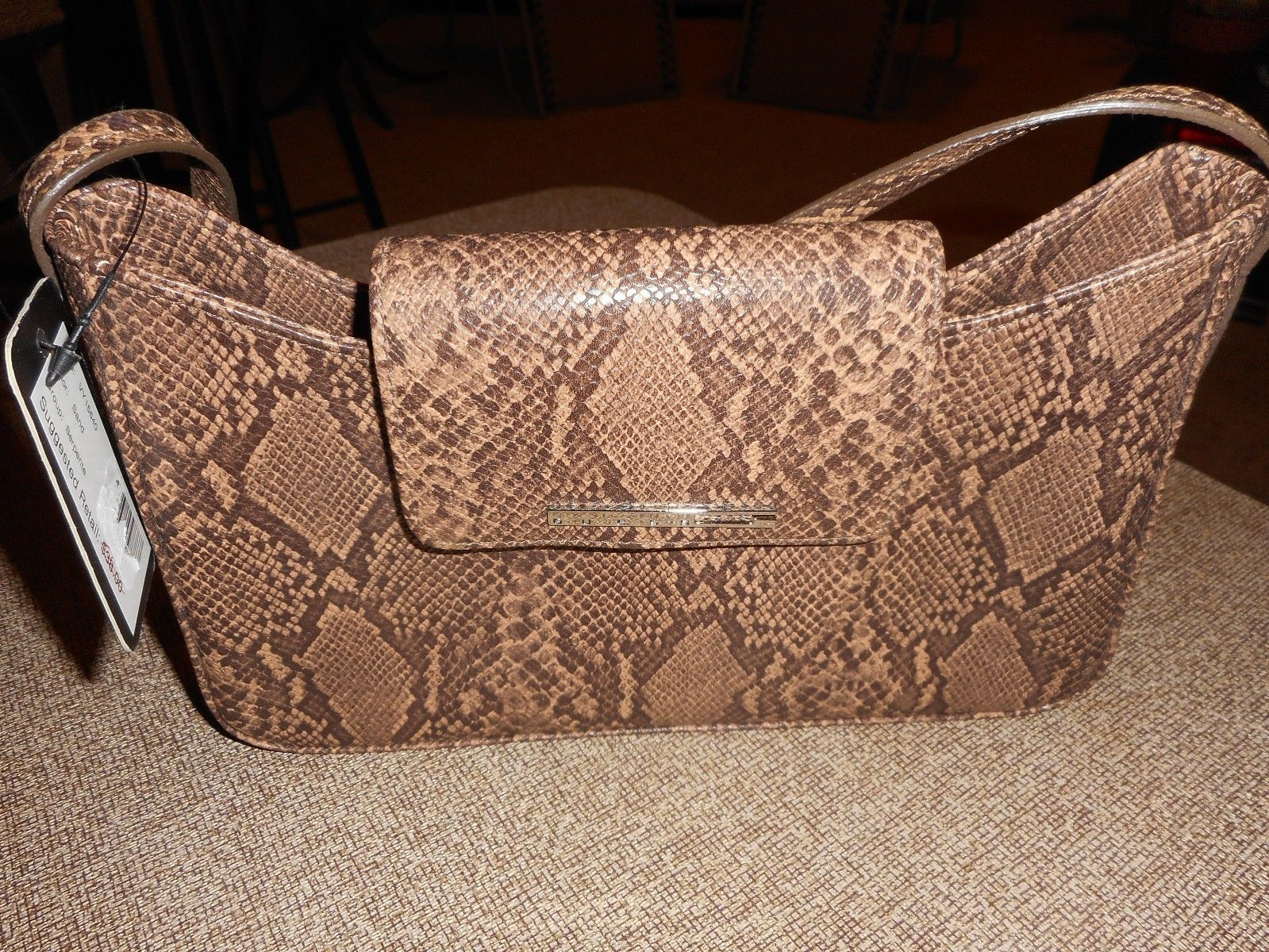 Bag Authentic Guess Faux Snakeskin