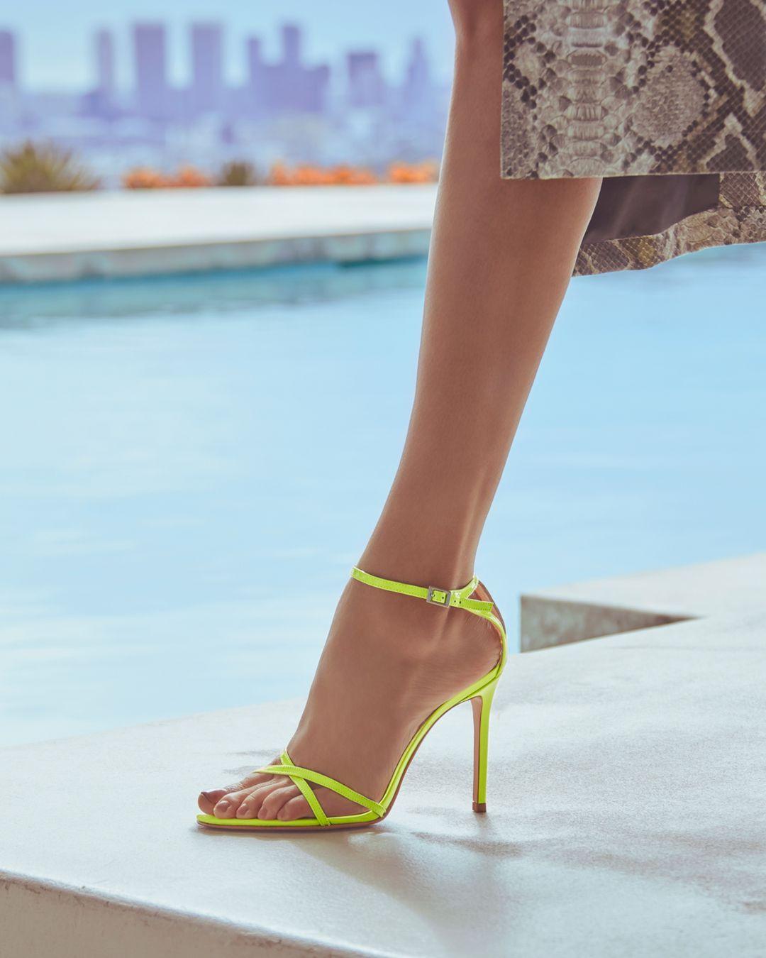 026f8047f0 Marnie Sandal in 2019 | Spring Runway 2019 | Heels, Heels outfits ...