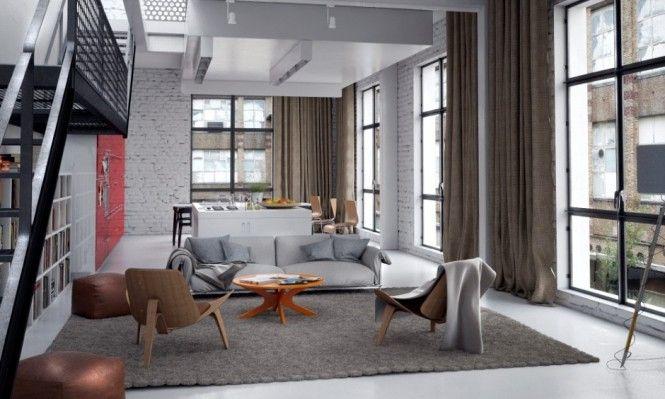Neutral Modern Living Room