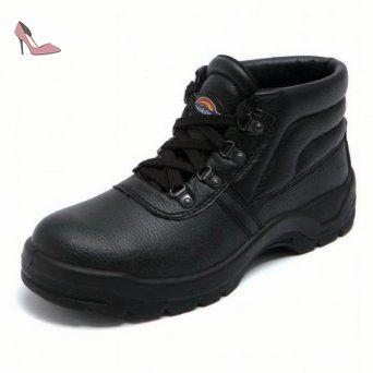 a663ee39a2c215 Dickies , Chaussures de sécurité pour homme Noir noir 11 UK - Chaussures  dickies (*