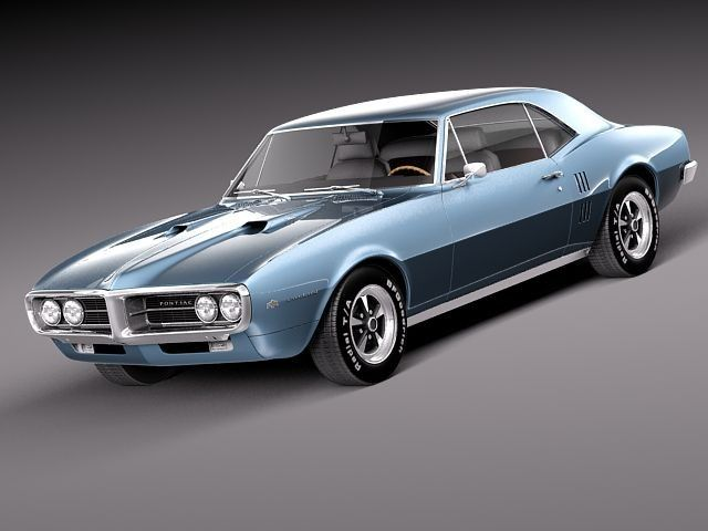 3d model of pontiac firebird antique cool muscle cars pinterest rh pinterest com