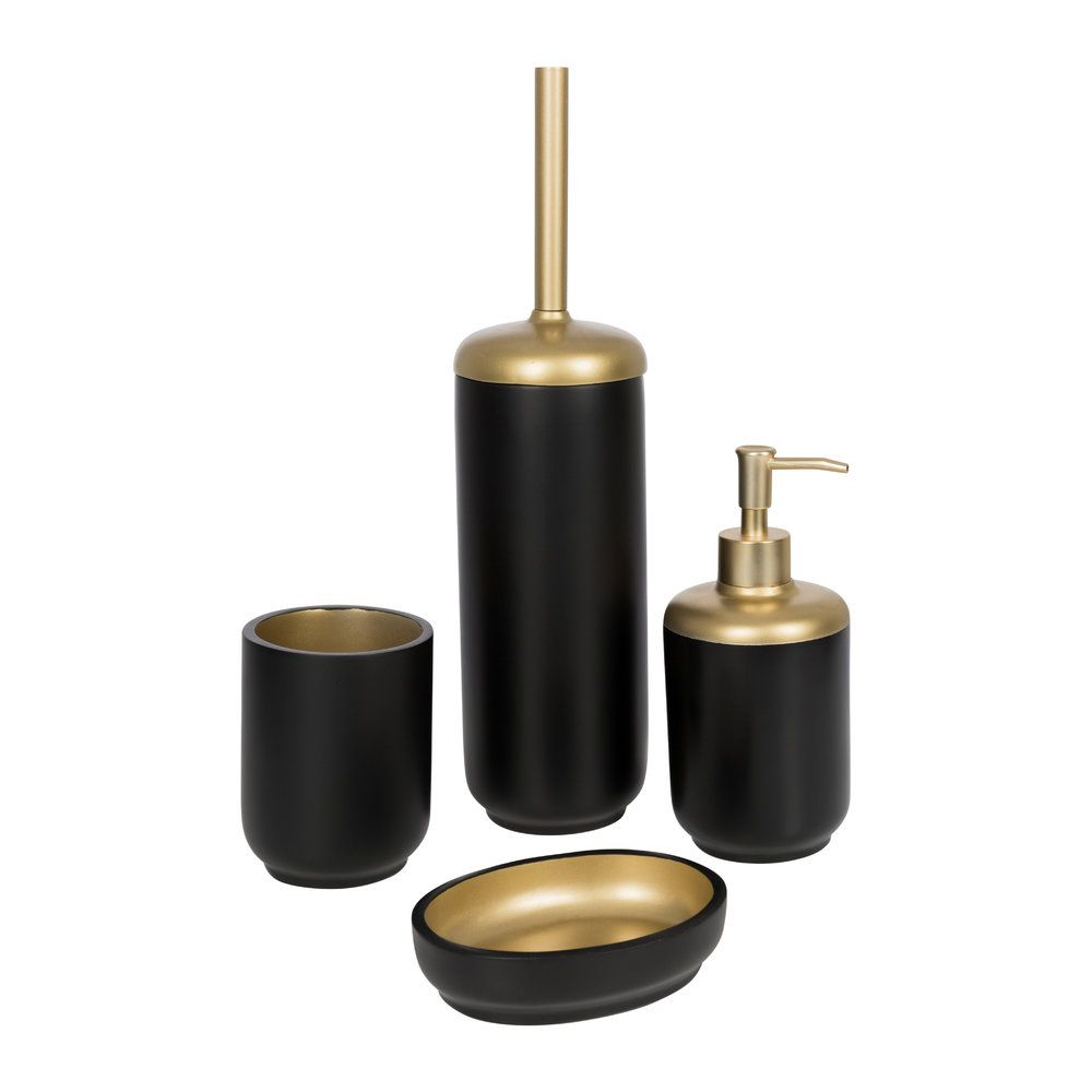 Buy Bathroom Origins Black Gold Resin Soap Dispenser Gold Bathroom Accessories Black And Gold Bathroom Gold Bathroom