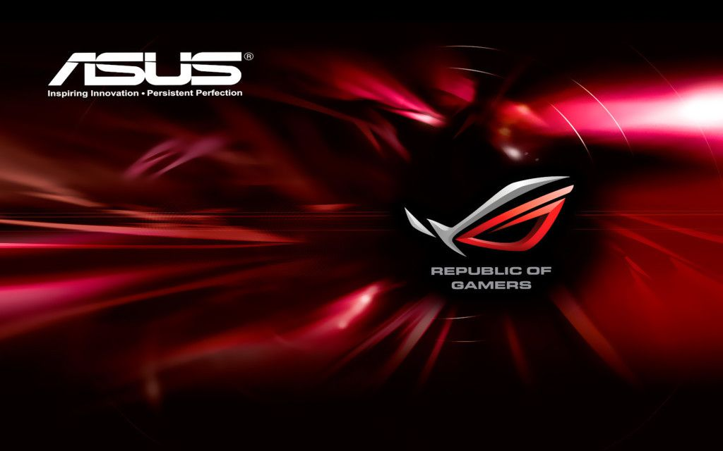 Red Asus Wallpaper: ASUS Wallpaper Red Logo