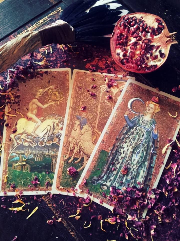 how to read the goddess tarot cards