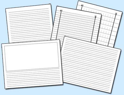 Pdf Handwriting Paper  Ot    Writing Paper Printable
