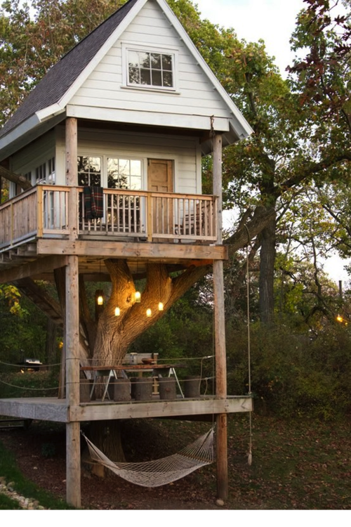 Pin By Catherine Ney On Cabins Tree House House My Dream Home