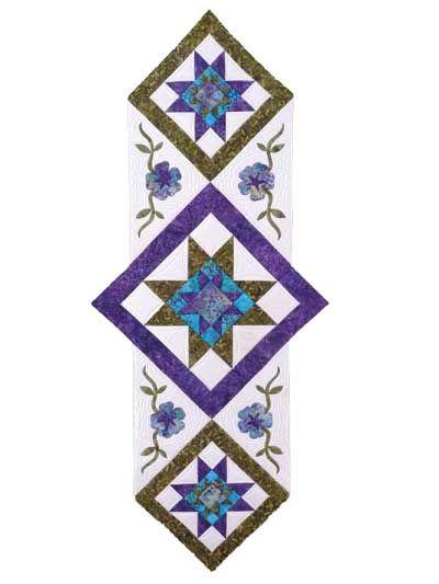 Star Flower Table Runner