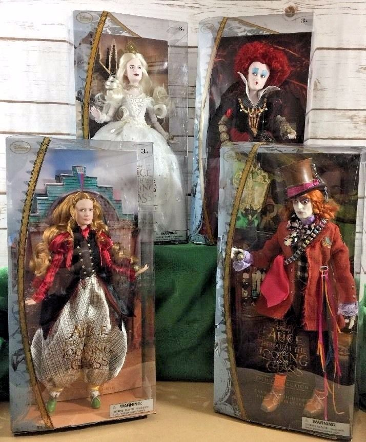 "Disney Store  ALICE in Wonderland Through the Looking Glass 12/"" Doll BRAND NEW"