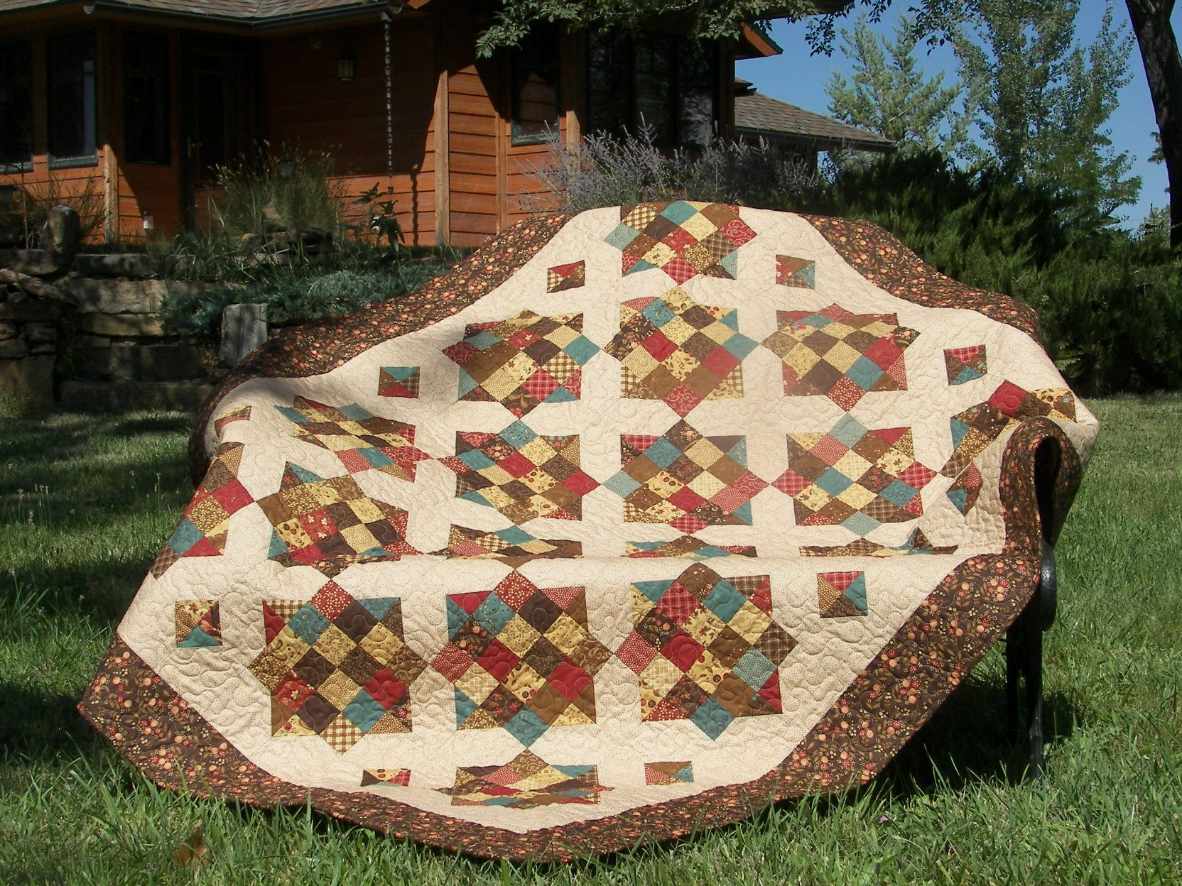 I think this is the quilt I will make for my bed one of these days ... : missouri star quilt tutorials - Adamdwight.com