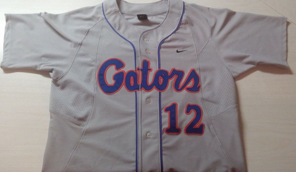 check out 220c5 9cb00 mENS aDULT fLORIDA gATORS bASEBALL jERSEY sIZE lARGE bUTTON ...