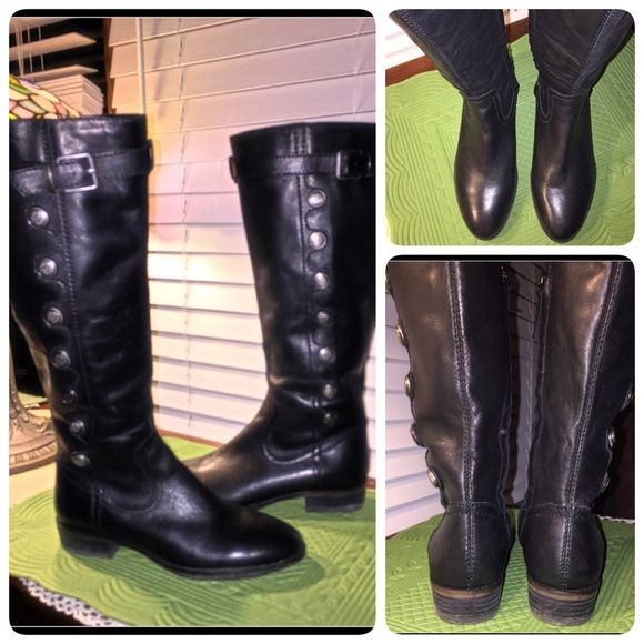 b82296a8075 Arturo Chiang Black Riding Boots Size 8 Like new, ARTURO CHIANG ...