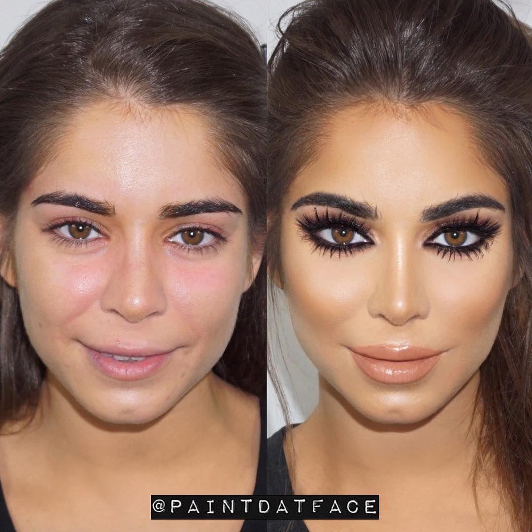 Vorher Nachher contouring das sind die krassesten vorher nachher bilder makeup