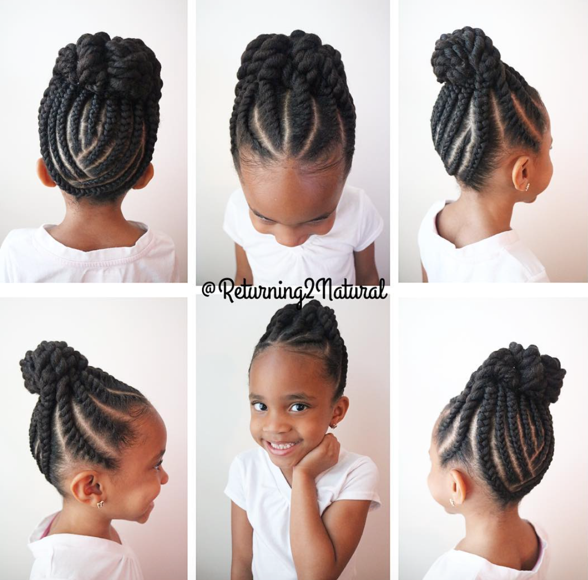 Coiffure Tresse Fillette Pin By Black Hair Information Coils Media Ltd On Kids
