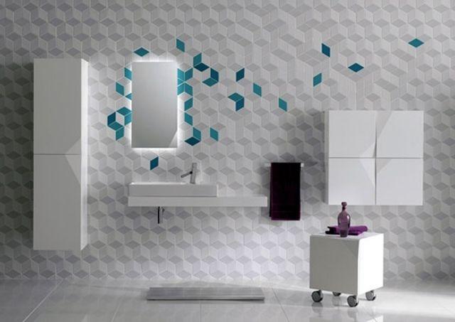 Mosaïque salle de bain - esthétique avec plusieurs avantages