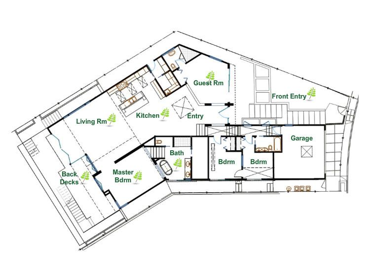 Ultra Sustainable And Eco Friendly Modern House In Los Angeles Sustainable House Design Eco House Design House Plans