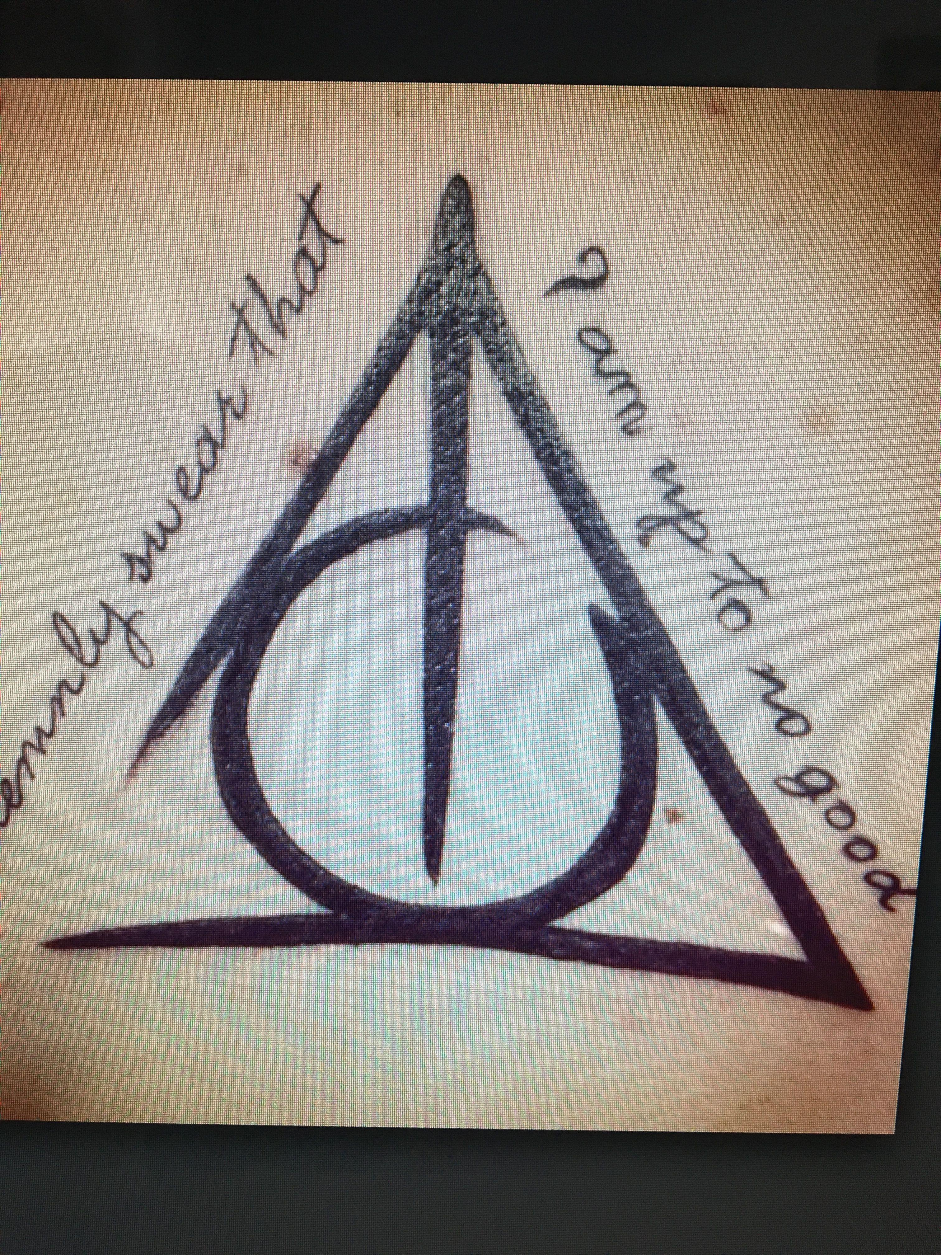 I doni della morte idee per tatuaggi tatuaggi di harry