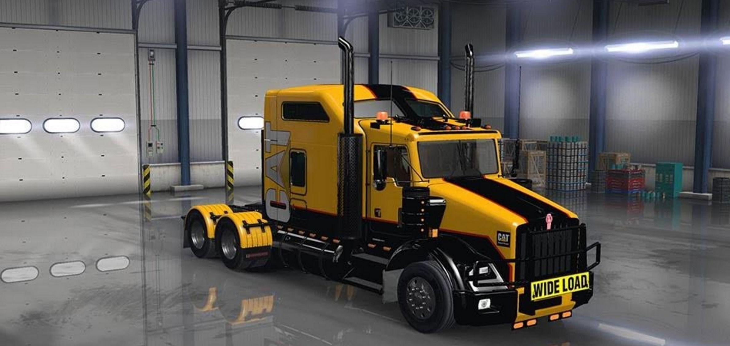 Kenworth T800 - American Truck Simulator mods | ATS mods | American truck  simulator, Trucks, Kenworth