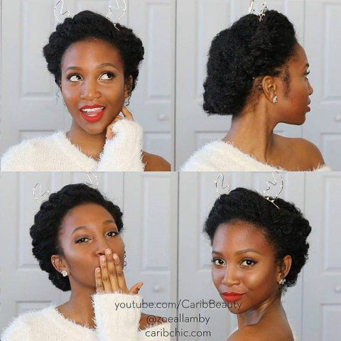 Naturalhairrocks Imagine This As A Wedding Style With Tiara