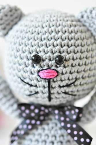 Amigurumi Meraklı Kedi Yapılışı #amigurumi
