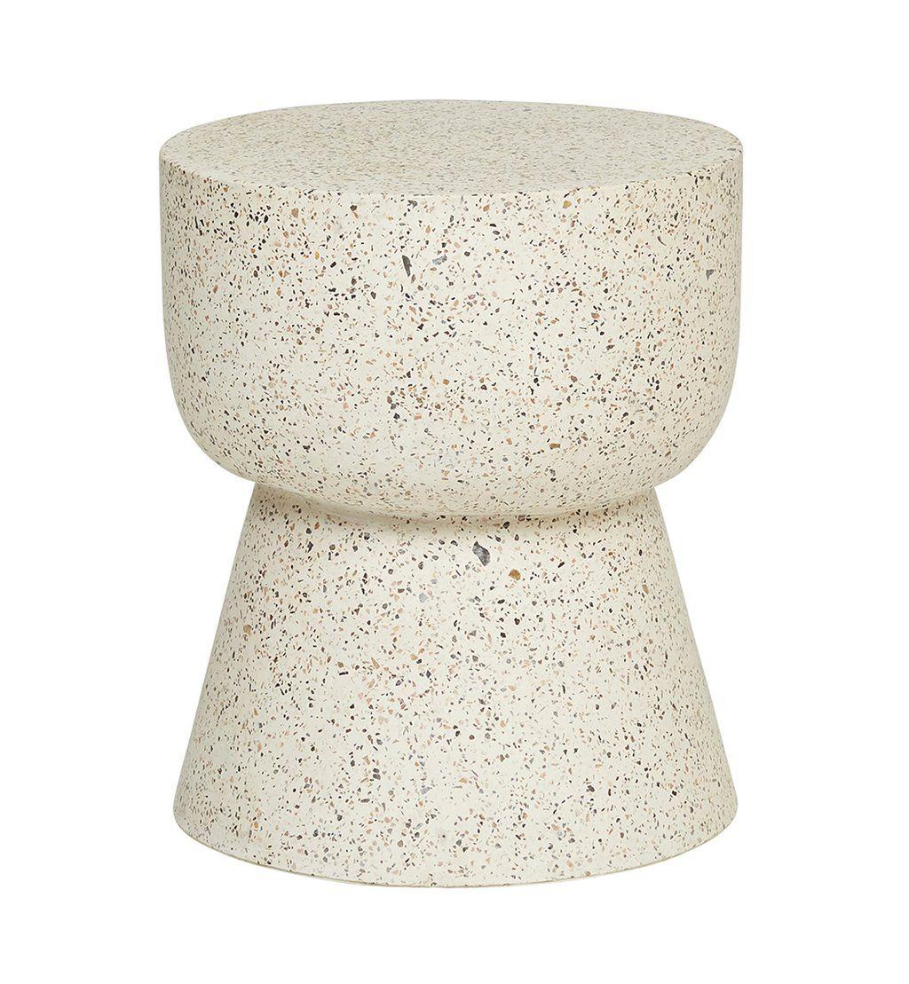 terrazzo hourglass stump natural table basse pinterest table et table basse. Black Bedroom Furniture Sets. Home Design Ideas