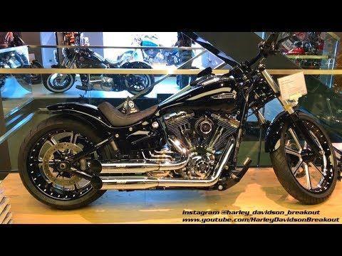 Harley-Davidson Custom Softail Breakout - YouTube | FXSB