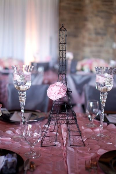 French Themed Baby Shower  A Night in Paris Party Theme