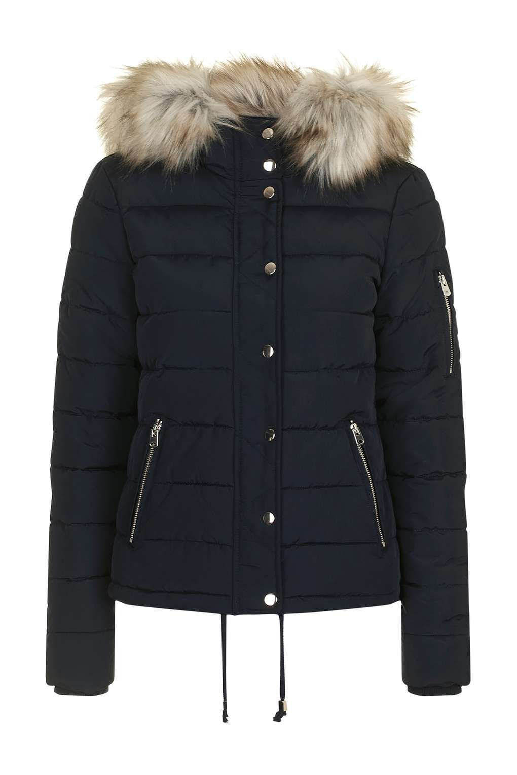 Topshop Puffer Jacket | FLY, STYLISH COATS & JACKETS | Pinterest ...