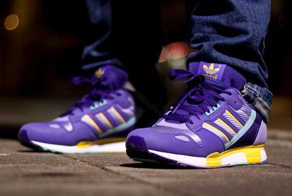 reputable site 593c7 d7dc7 adidas Originals ZX 800: Purple | Sneakers - Kicks ...