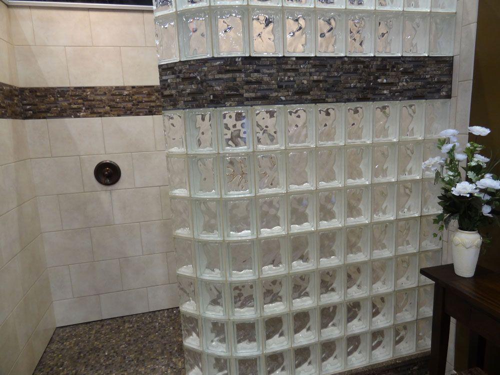 Curvedglassblockwalldecorativetileborderexpandedpolystyrene - Curved tile border