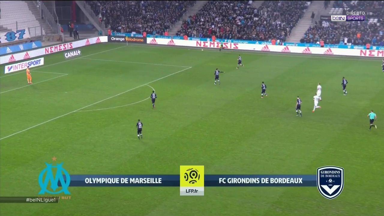 Pin on goals Ligue 1 17/18 Marseille vs. Bordeaux 18