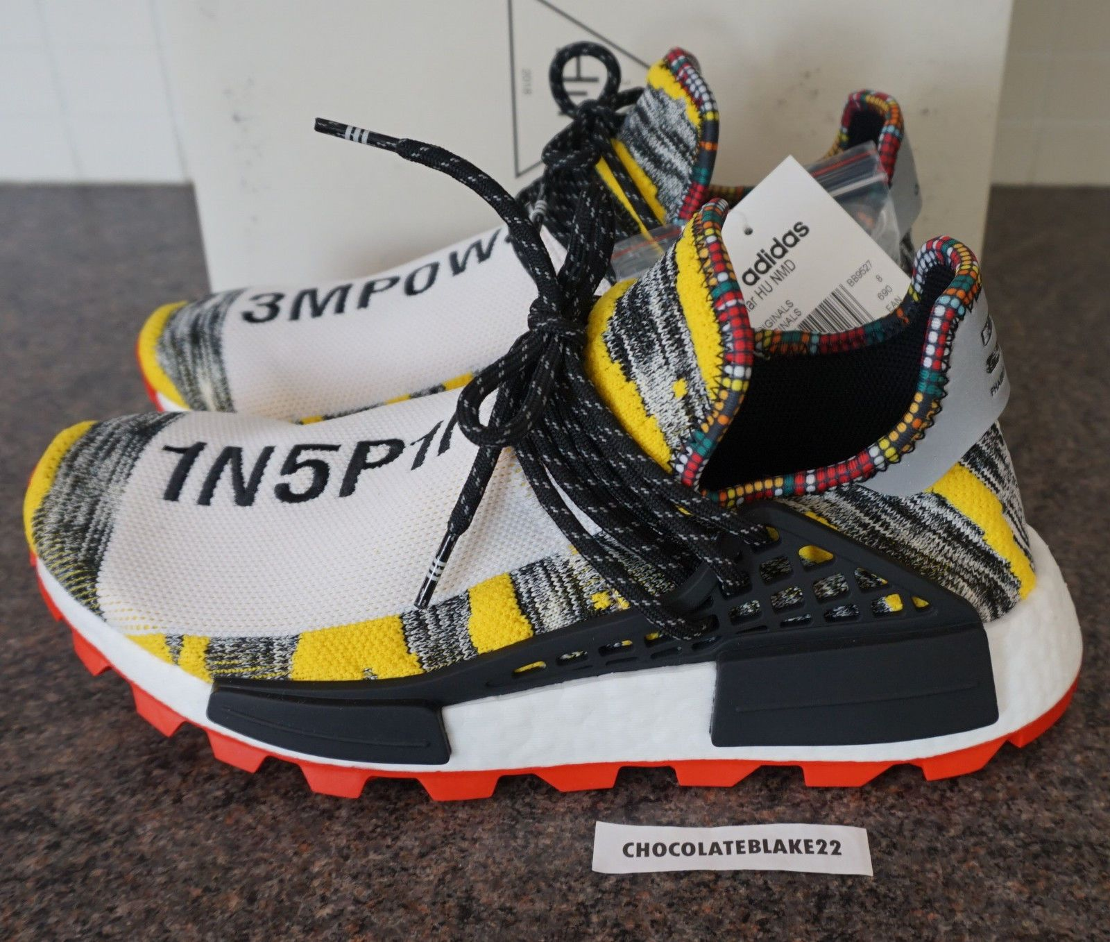 6051ffb73 Details about adidas Originals x Pharrell Williams PW Solar Hu NMD ...