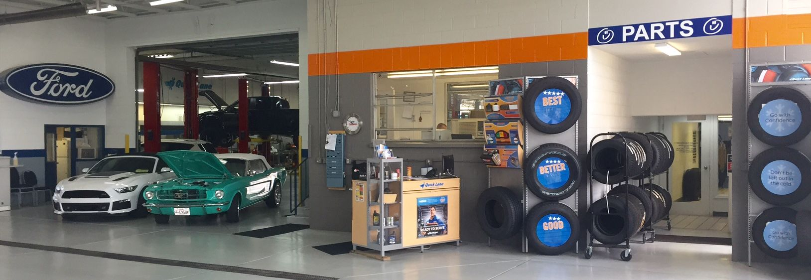 Our Performance Ford Lincoln Service Parts Center Is Staffed
