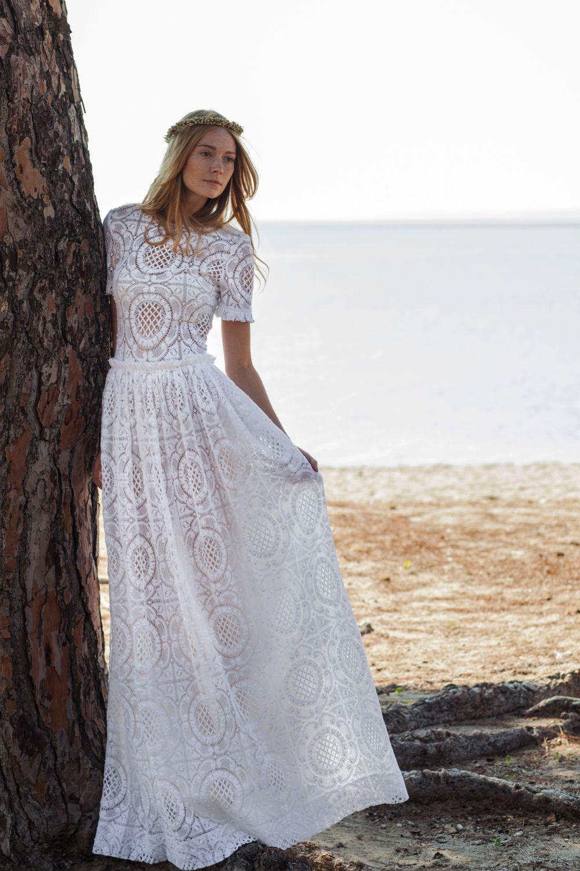 The beautiful boho wedding dresses from christos costarellos