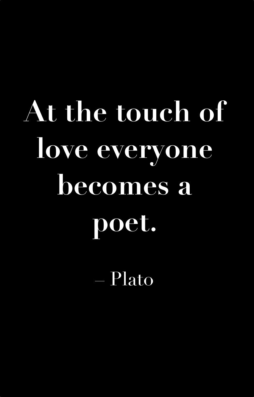 #Plato #love #quote (With images) | Quotations, Greek ...