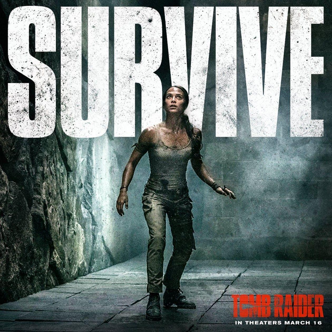 Alicia Vikander Actress Lara Croft Tomb Raider 2018 New Tomb