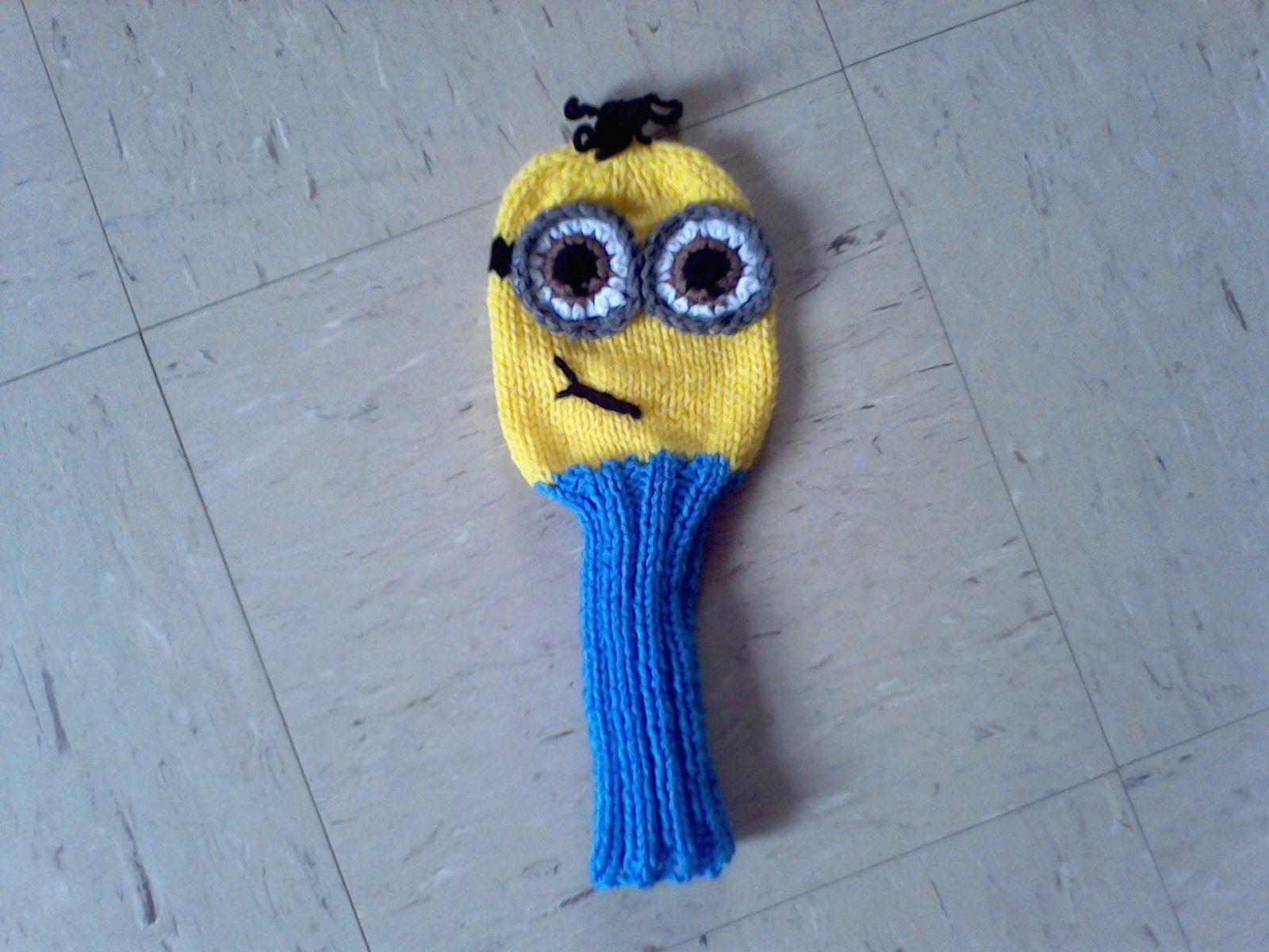 Minion golf cover knit golf club covers pinterest golf golf minion golf cover golf head coversgolf club coversgolf clubsknitting patternsminionsknit bankloansurffo Gallery