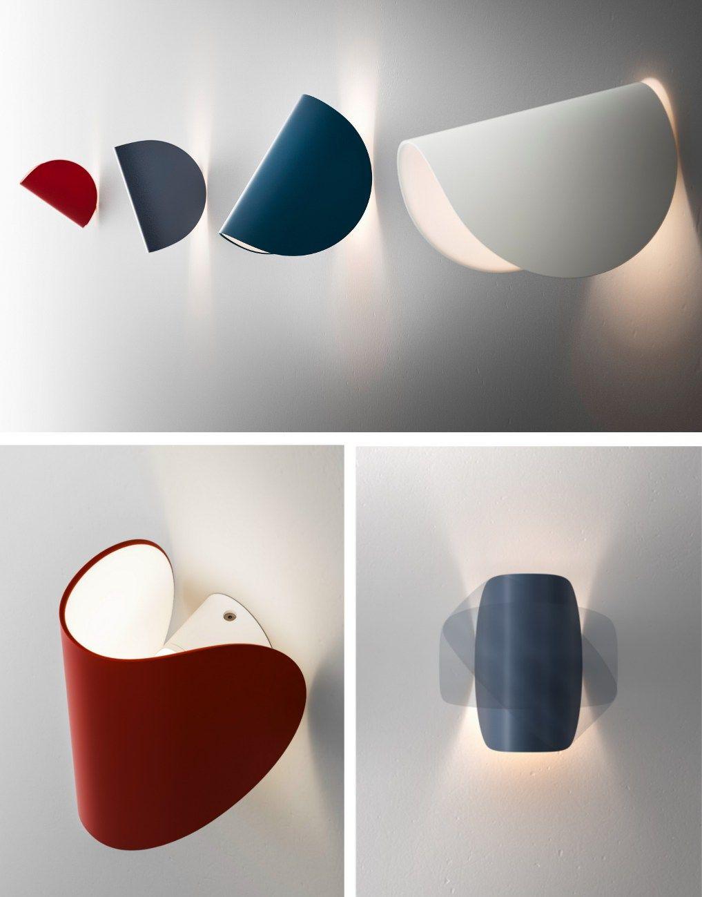 Led Wall Light Io By Fontanaarte Design Claesson Koivisto Rune Wall Lamp Design Wall Lights Led Wall Lights