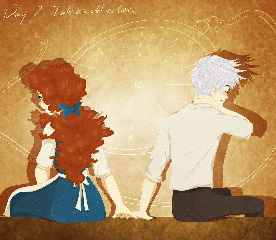 Jarida Week Tale As Old As Time by calmdownchristina on DeviantArt