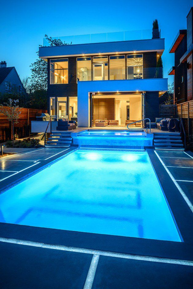 15 Tempting Contemporary Swimming Pool Designs