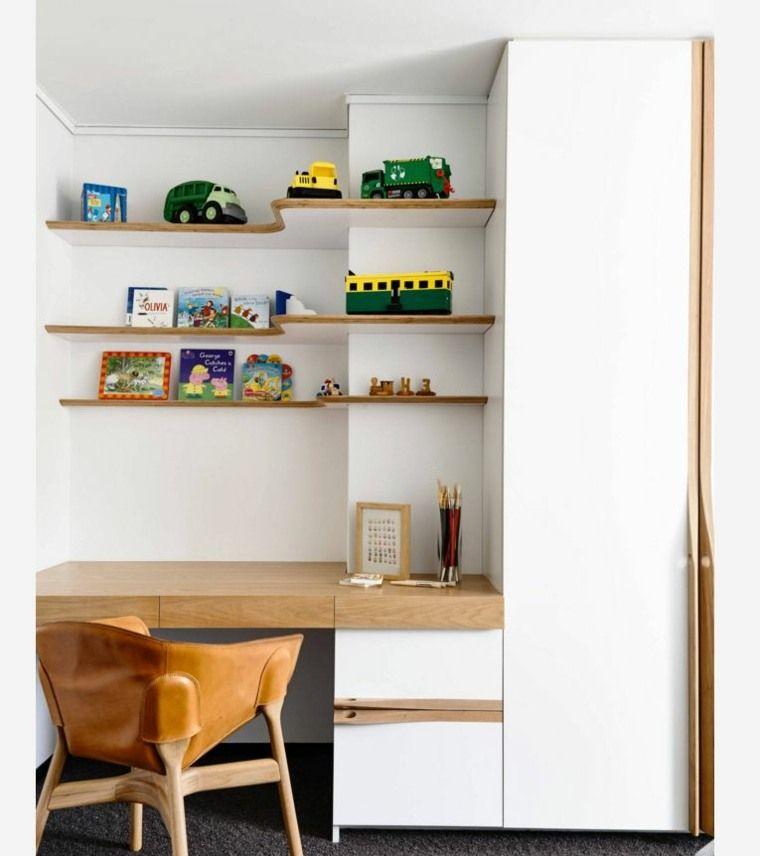 Bieten Sie einen Bürobereich im Jugendzimmer: 30 Ideen ...