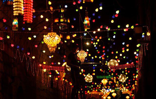 Ramadan Street Lights And Decoration Ramadan Lantern